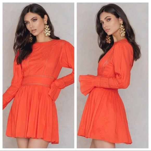 bc65d63b585bb Free People Dresses | Victorian Waisted Mini Dress 2 New | Poshmark
